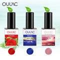 Oulac Gel de Fábrica Serie Natural de los Productos de Uñas de Gel Esmalte de Uñas de la Nueva Llegada 12 ml