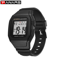 PANARS New Fashion Casual Men's Sports Watch Digital Military Army LED