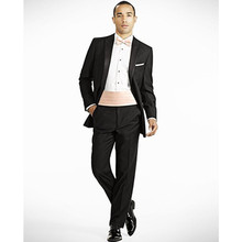 tuxedo for font b men b font bridegroom font b suits b font groom wear black