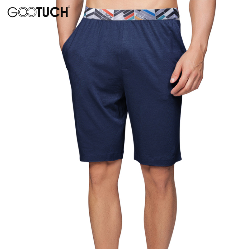 Summer Modal Man's Large Size   Shorts   Casual Knee Length Long Boxer 4XL 5XL 6XL Fashion Straight Beach   Shorts   G-2509