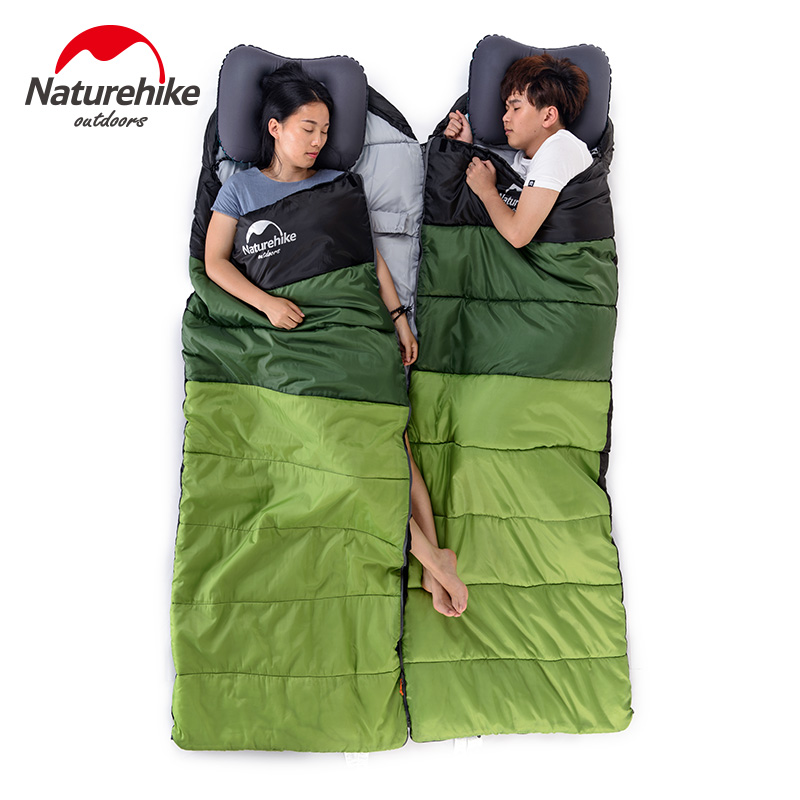 Naturehike Factory Outdoor travel sleeping bag spring Autumn winter warm portable camping adult indoor noon break sleeping bag - 4