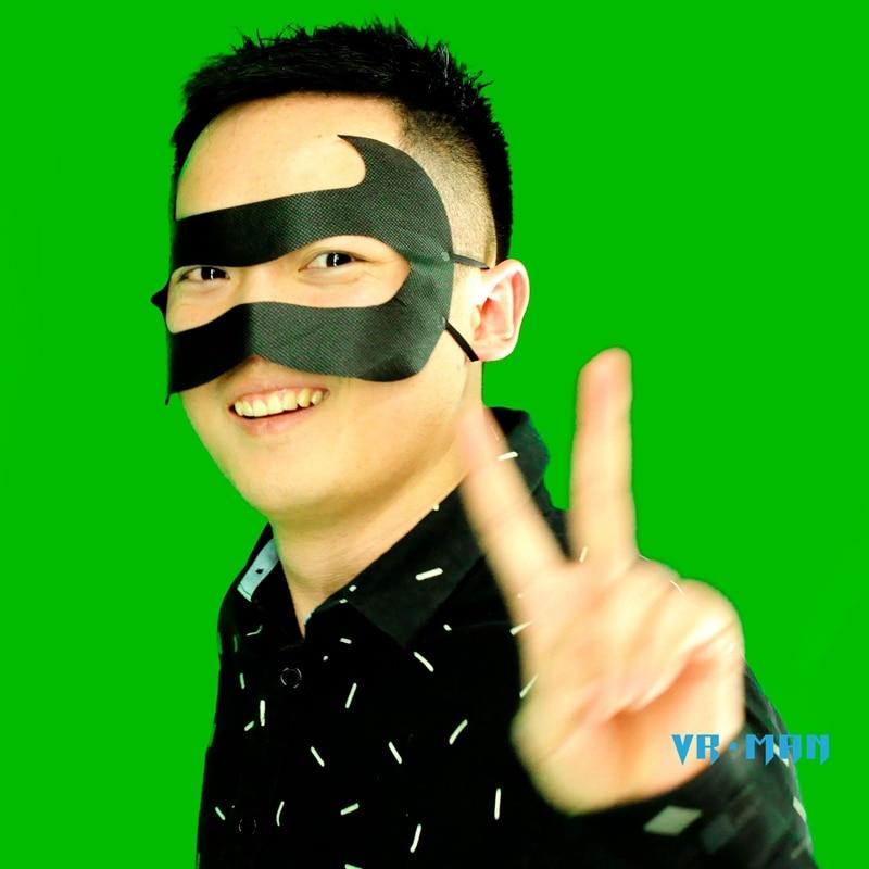 Fitness & Body Building Black Colour 100pcs Hygiene Eye Pad Face Mask For Psvr Vr & Htc Vive Pro