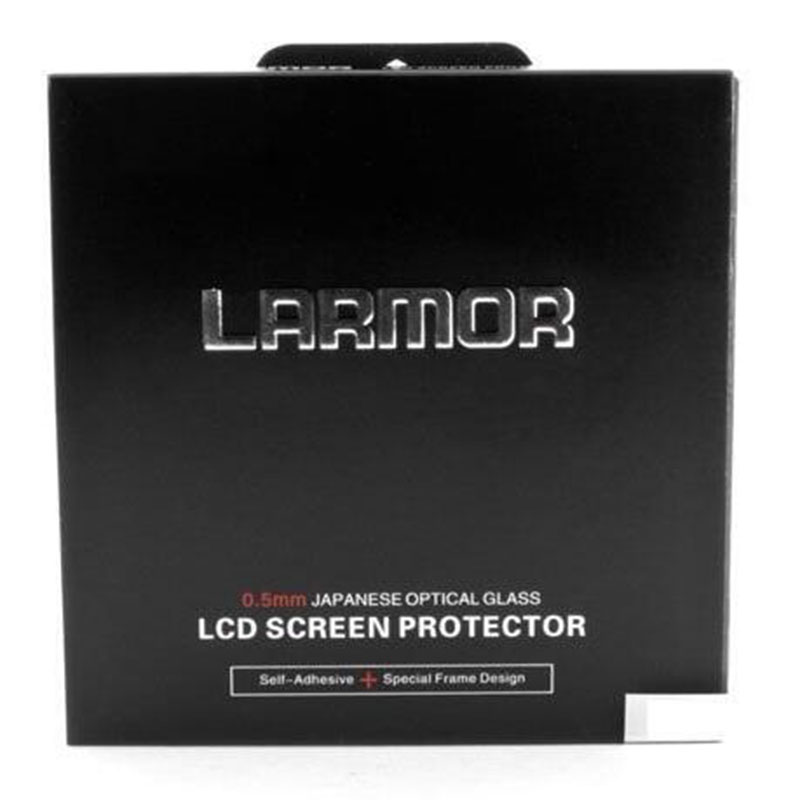 LCD Screen Protector LARMOR GGS Self-Adhesive Optical Glass for Canon EOS 1dx 1dxii 80d 100d 5diii5ds 5dii 6d 7d 7dii 60d 70d