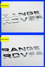 Fixed Letters Hood Emblem For RANGE ROVER