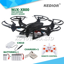 New Original X800 2.4G 6-axis 4CH remote control uav real time fpv rc drone quadcopter helicopter with camera profesional