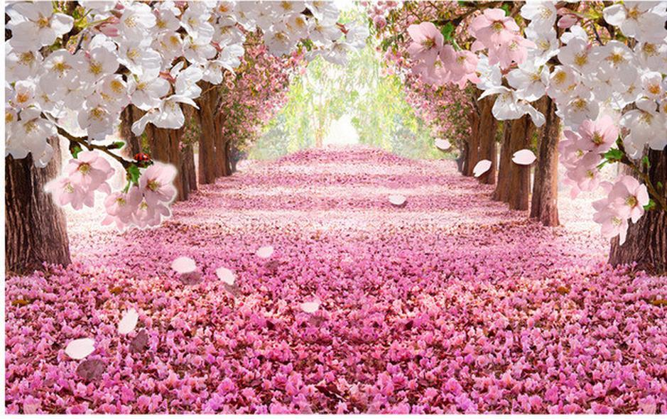 customized wallpaper for walls photo 3d wallpaper Garden flowers