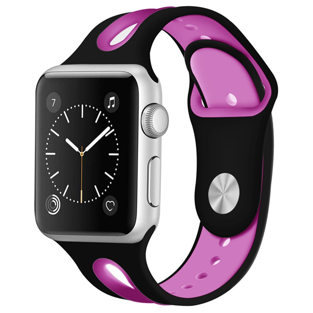 Sport Silicone strap For Apple watch band 38mm for iwatch bands 42mm series 3 2 1 bracelet wrist Rubber watchband Accessories sport silicone band strap for apple watch series 3 2 1 42mm 38mm rubber bracelet wrist watchband for iwatch watch accessories