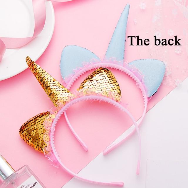 New Fashion Cute Unicorn Cat Ears Lace Headband
