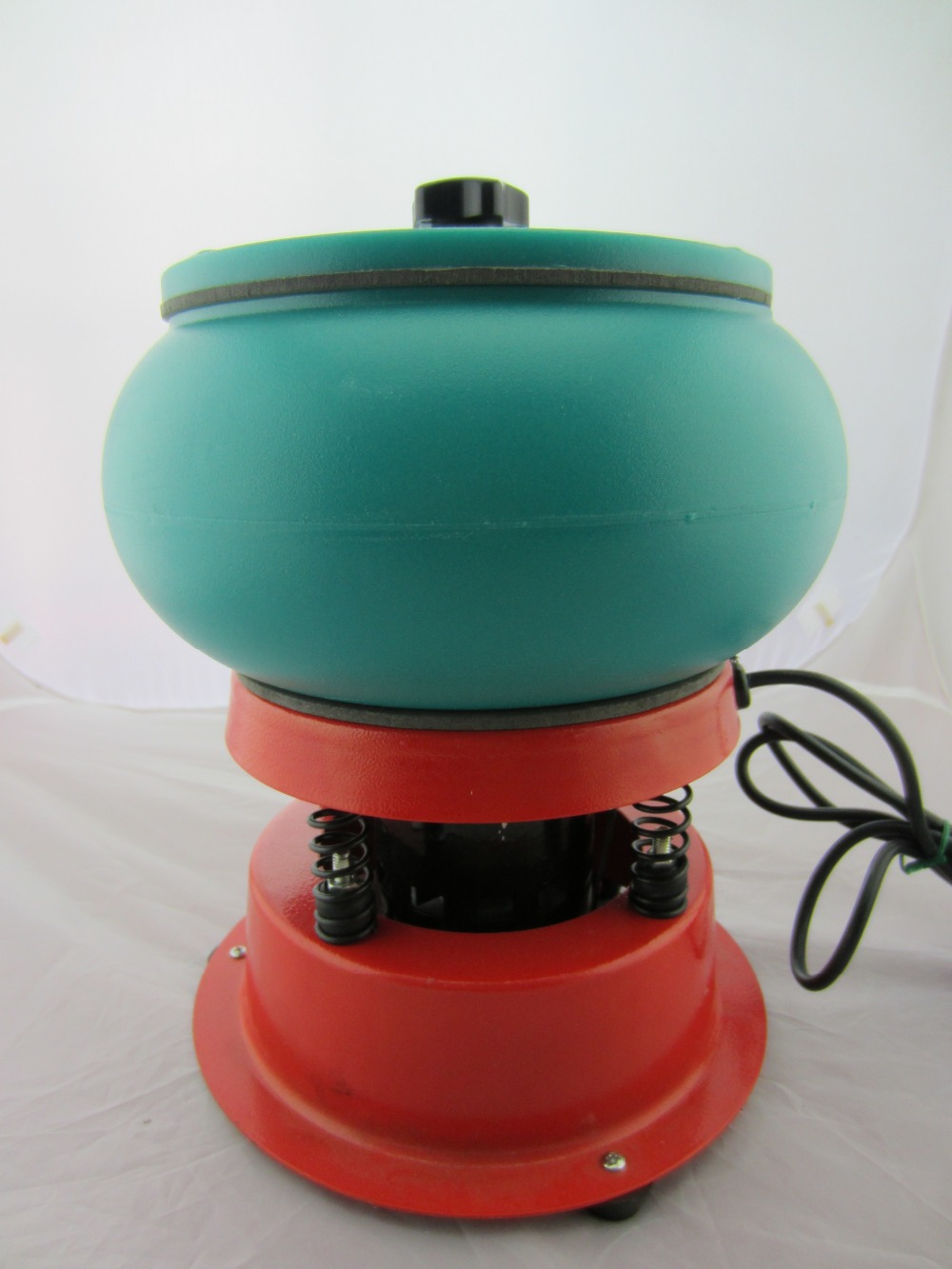3kg Mini Vibratory Media Tumbler, Wet cleaning tumbler,jewelry Finisher Lapidary Vibratory Tumbler,Gemstone Polishing Machine