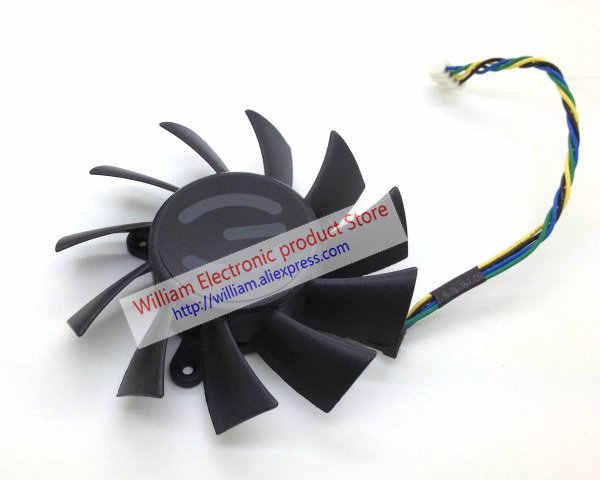 New Original AVC DASA0815R2U DC12V 0.60A 75 diâmetro MM passo 36*34*48 MM para EVGA GTX550 GTX450 ventilador de refrigeração da placa gráfica
