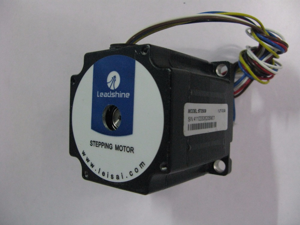 цена на 3-phase hybrid stepper motor 573S09 Current /phase 3.5A Holding Torque 0.6N NEMA 23 CNC stepper motor