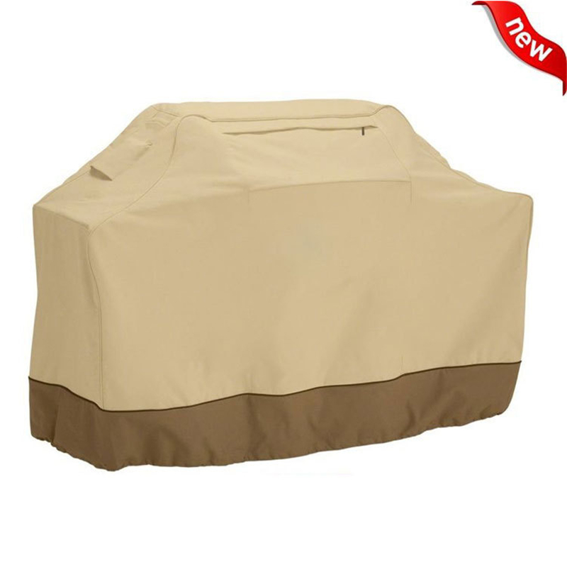 Outdoor Waterproof Weber BBQ Cover Beige Black Heavy Duty Weber Grill Cover Protective Housse Barbecue Grill BBQ Accessories