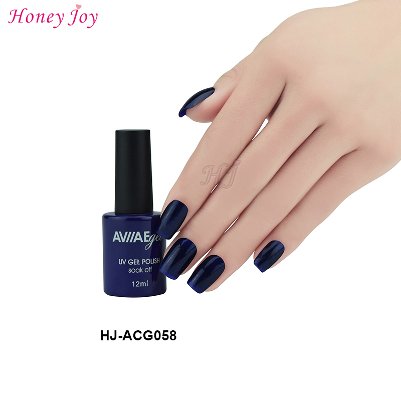 Aviiae 58 Dark Color Gel Nail Polish Long Lasting Soak Off Led Uv L Cure Cosmetic Make Up 12ml In From Beauty Health On