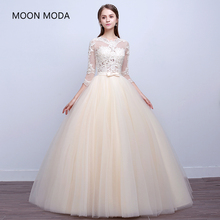 Lace Princess wedding dress  bride dress plus size ball gown wedding g