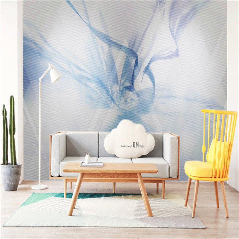 Modern Style Wallpapers Stereoscopic 3D Murals Custom Photo Murals Abstract Art Painting Walls Papers for Living Room Home Decor custom photo wallpapers for walls 3d modern non woven wall papers mural for bedroom living room home decor flowers oil painting