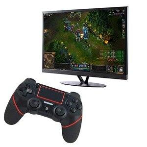 Image 2 - 3 色ワイヤレス Bluetooth ゲームパッドゲームコントローラコンソールソニー PS4 プレイステーション 4 ジョイスティック