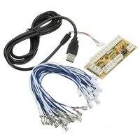 DIY Нулевая задержка игровой запасные части Mayitr USB энкодер для ПК для джойстика и кабеля для управления DIY Аркадный Игровой Набор
