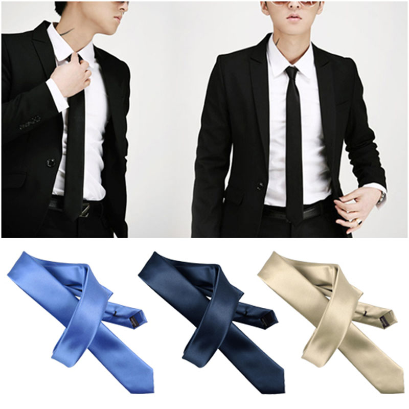 2016 5.5cm Narrow Ties Fashion Neckties s