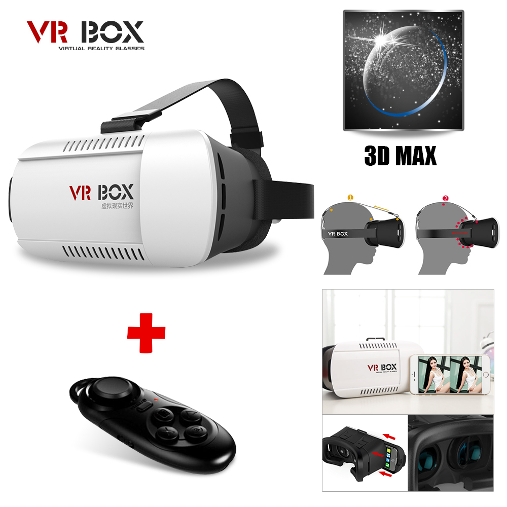 GoogleCardboard font b VR b font BOX1 0 Version Virtual Reality 3D Glasses for 3 5