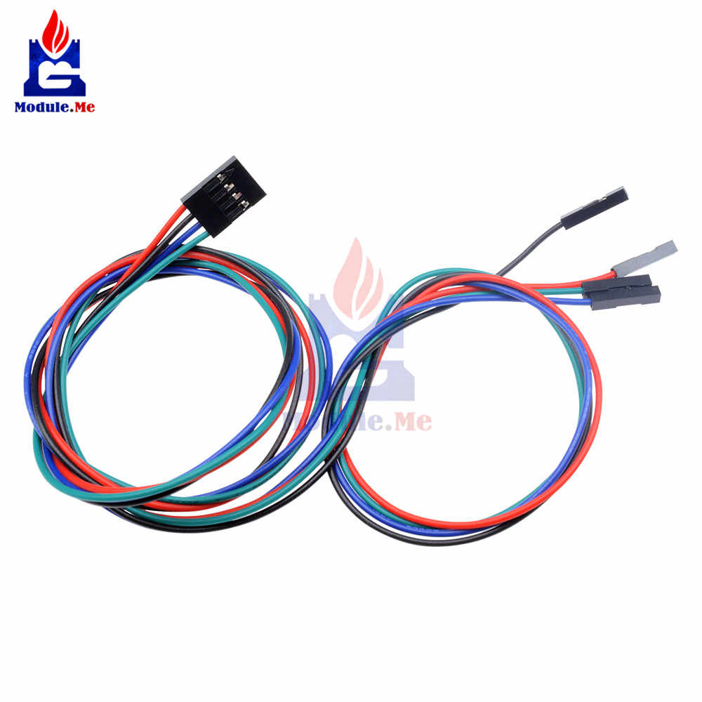 4Pin 70cm Dupont Line Female to Female Jumper Wire Dupont Cables Connector for Arduino 3D Printer Reprap