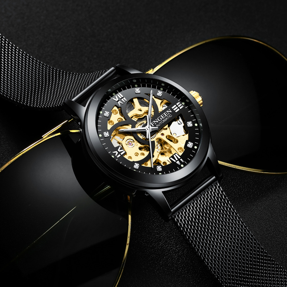 FNGEEN-Men-Luminous-Mechanical-Watch-Top-Brand-Luxury-Skeleton-Automatic-Watches-Stainless-Steel-Mesh-Strap-Men