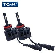 TC-X LED Auto Scheinwerfer Kit H11 luxeon z es Lüfterlose 6000 Karat 5000 Karat 3000 Karat 9006 880 Einstellbar Abstrahlwinkel Auto Nebelscheinwerfer lampen