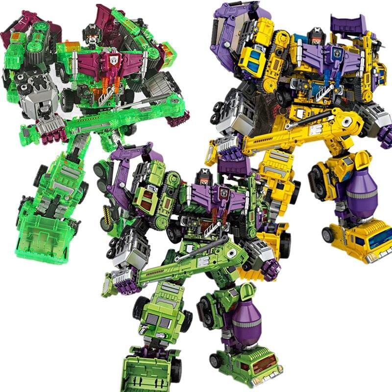 40 cm 3 style NBK 1 6 transformacja Robot Ko Devastator hak dłuższą metę skrobak Mixmaster rysunek zabawki działania figurki anime zabawki w Figurki i postaci od Zabawki i hobby na  Grupa 1