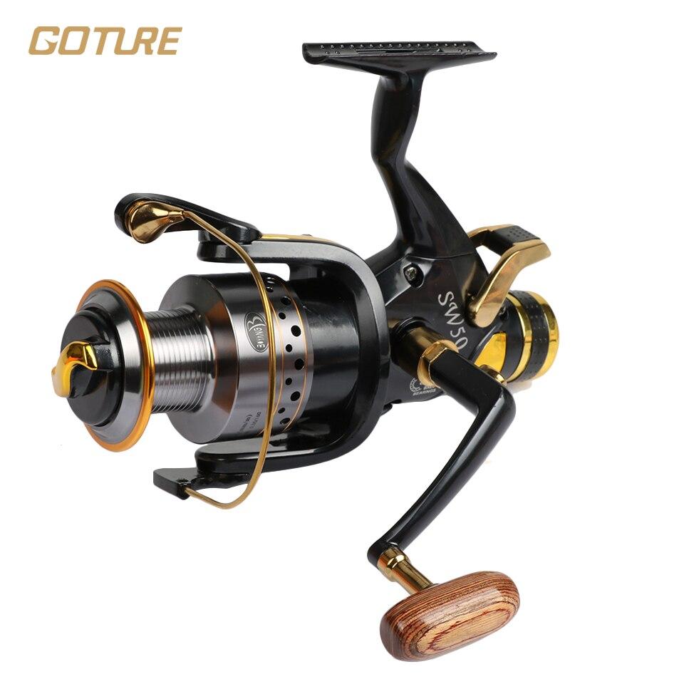 Goture superior metal 9 9 1bb carp spinning reel bait for Carp fishing reels