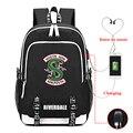 Школьный рюкзак с USB-зарядкой, для мужчин и женщин