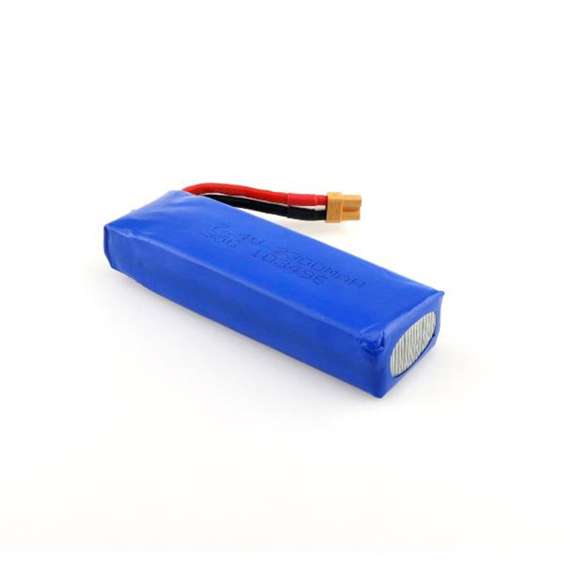 MJX B6 Bugs 6 RC Quadcopter Spare Parts 7.4V 2300mAH 35C Lipo Battery Upgraded Battery for FOV\\PV Drone Accessories Accs радиоуправляемый инверторный квадрокоптер mjx x904 rtf 2 4g x904 mjx