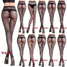 129f3f0f1 23 Styles Women s sexy fishnet tights Jacquard weave pantyhose