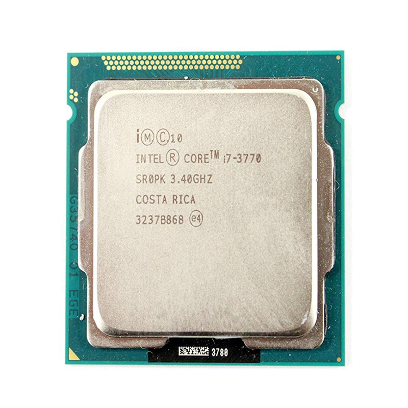 Intel Core i7 3770 3.4GHz 8M 5.0GT/s LGA 1155 SR0PK CPU Desktop Processor-in CPUs from Computer & Office