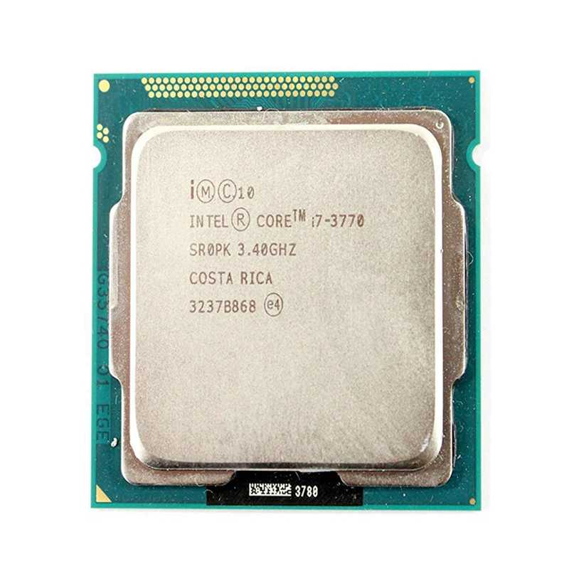 Intel Core i7 3770 3.4GHz 8M 5.0GT/s LGA 1155 SR0PK CPU Desktop Processor