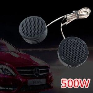 1 пара, 500 Вт, мини-купольный автомобильный твитер, колонки 2,8 В, универсальный автомобильный звук, автомобильная аудиосистема, стерео широко...