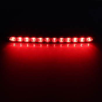 Red Led Light Strip   3RD Third Stop Brake Turn Signal Light LED High Level Rear Strip Tail For Mercedes Benz E Class W211 03-06 Red Car Accessories