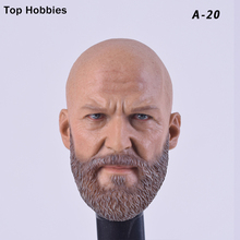 Custom Iron Monger Bearded Headplay 1/6 Head Sculpt for Hot Toys Jeff Bridges Muscular Man Body Fit 12 Inch Phicen Action Figure цена