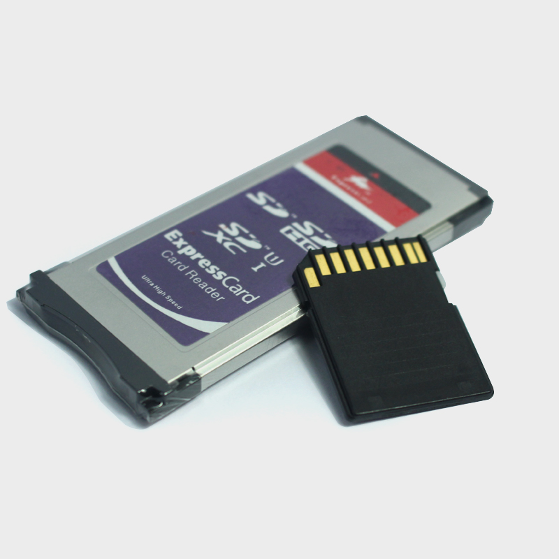 Image 2 - Expresscard Card reader SD SDHC SDXC Card Adaptor + SD Card 1GB 2GB for XDCAM Series SXS Card Adapter-in Memory Cards from Computer & Office