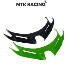 FOR KAWASAKI NINJA 250 400 ninja 250/400 Motorcycle Front Fairing Aerodynamic Winglets ABS Plastic Cover Protection Guards
