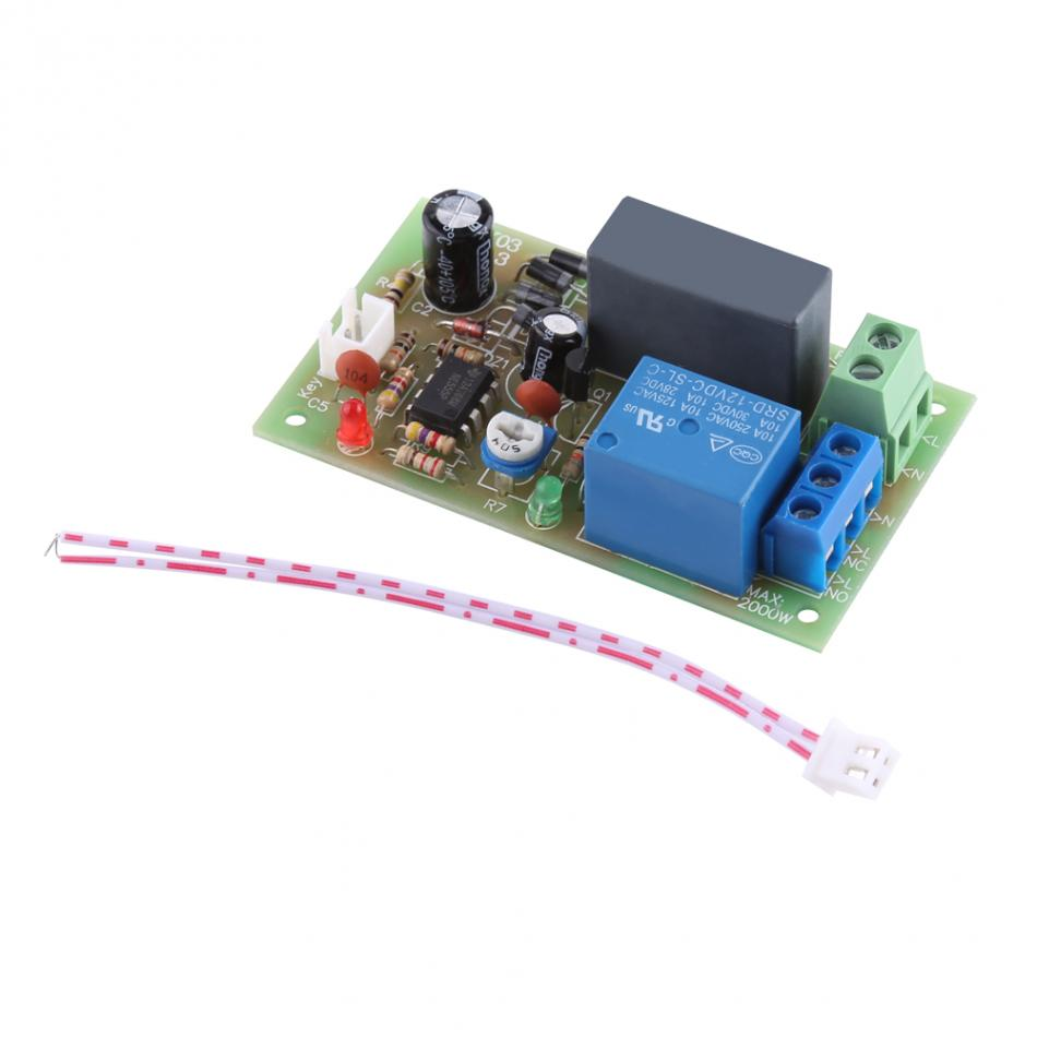 Ac220v Relay Timer Module Switch Trigger Time Delay Circuit Ac 220v Cycle Adjustable