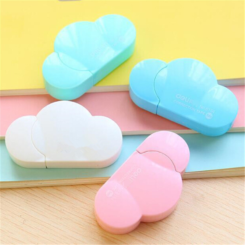 5mm X 5m Cute Kawaii Cloud Mini Small Correction Tape Korean Sweet Stationery Novelty Office Kids Gift School Supplies