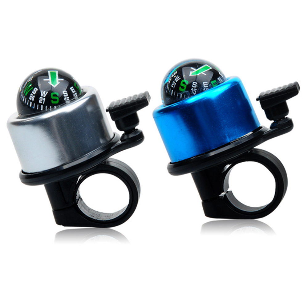 1 шт. практичный мини компас велосипедный Звонок для верховой езды спортивный руль кольцо с компасом-вниз клаксон велосипедный Звонок аксес...