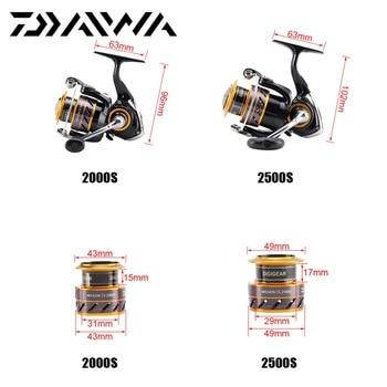 Amazing DAIWA Mission CS 2000S-4000S Spinning Fishing Reel 3+1BB 5.3:1 Fishing Reels 48df1abde761c99b90b086: 4