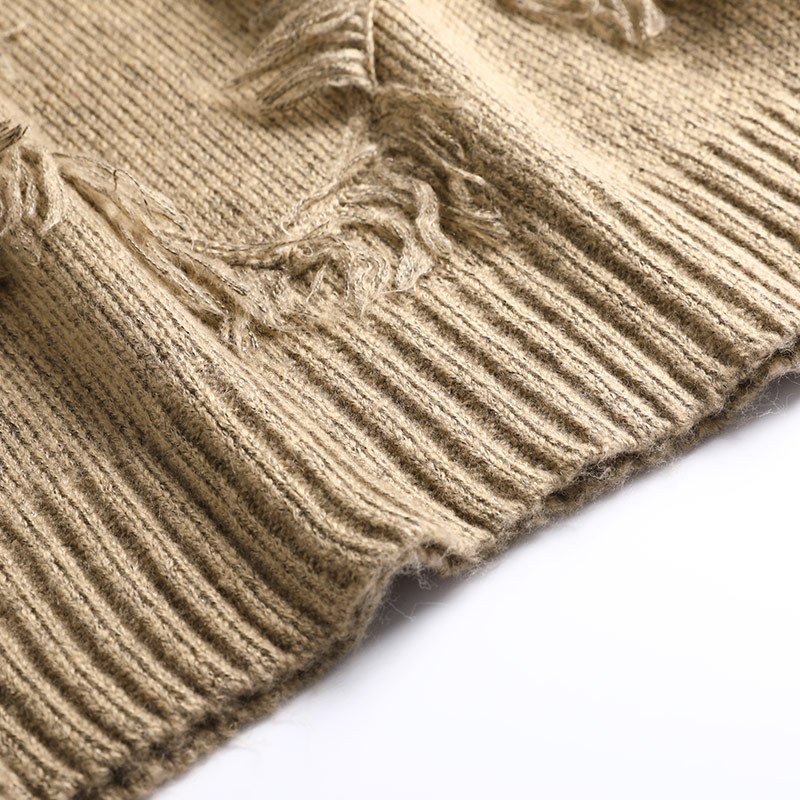 Épais Hiver Tricoté O Droite Kaki Cashmer cou Robe Casual Coton Femmes Pull Chaud Femelle Automne JTlF1uKc3