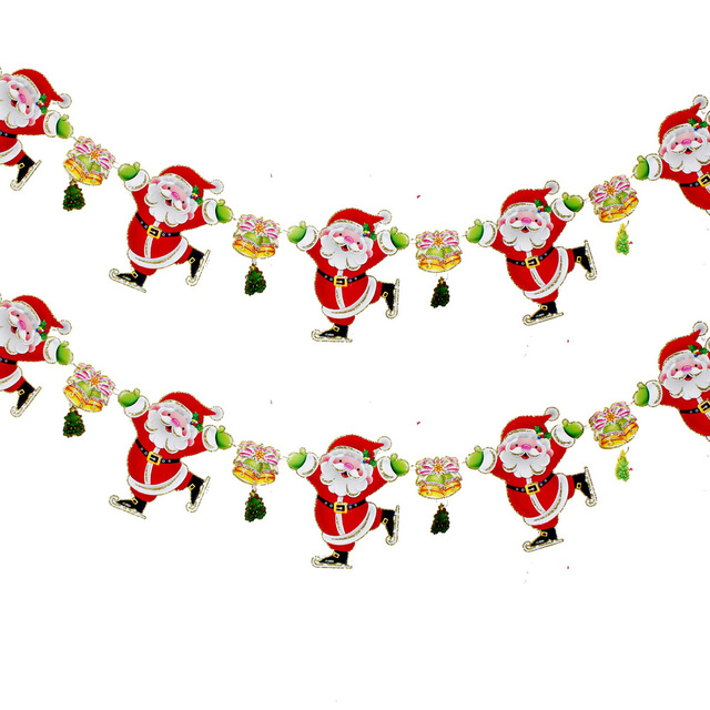 2pcs/lot Free Shipping Hot Sale Christmas decorations santa claus ...