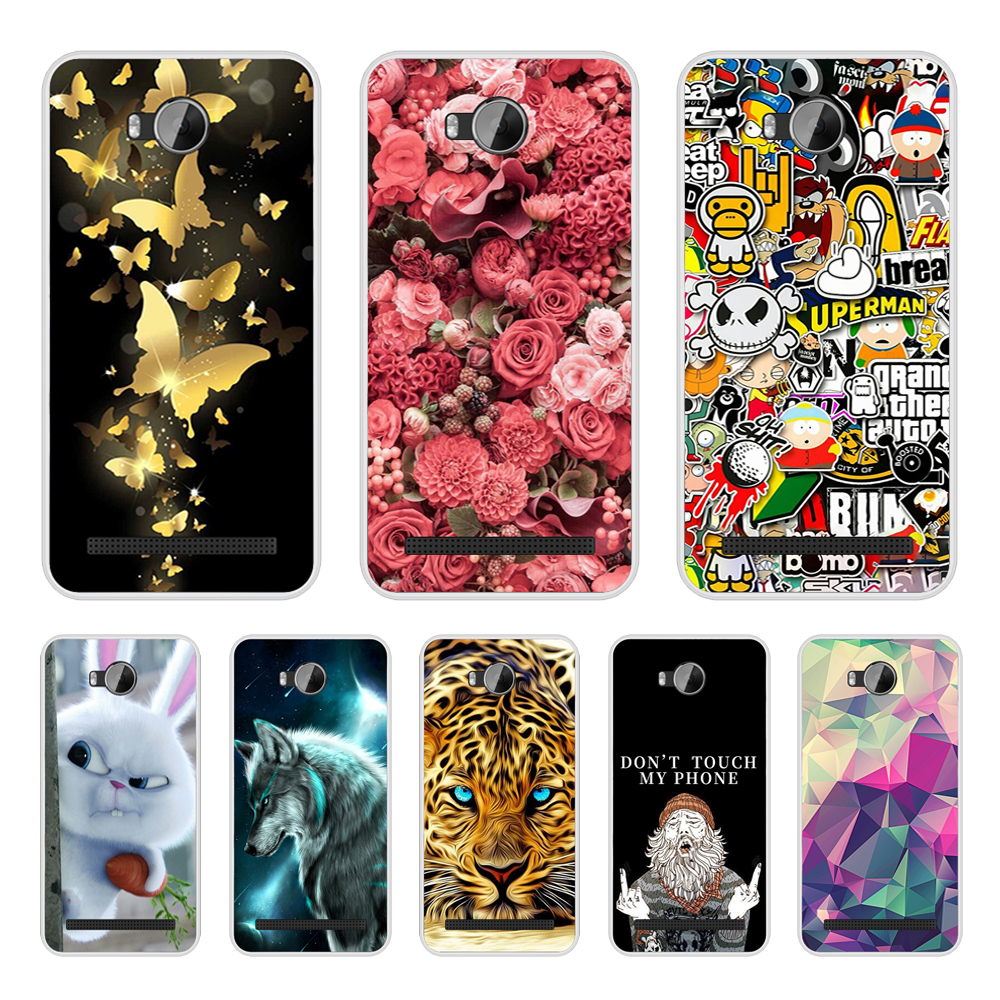 For Huawei Y3II Case Soft TPU Cover For Huawei Y3 2 Cover 3D Silicon Case For Huawei Y3 II 4.5