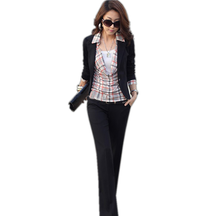 Women Blazers Autumn Winter Office Lady Solid Slim Business Blazers Fashion Notched Collar Full Sleeves No Pocket Jackets Noble