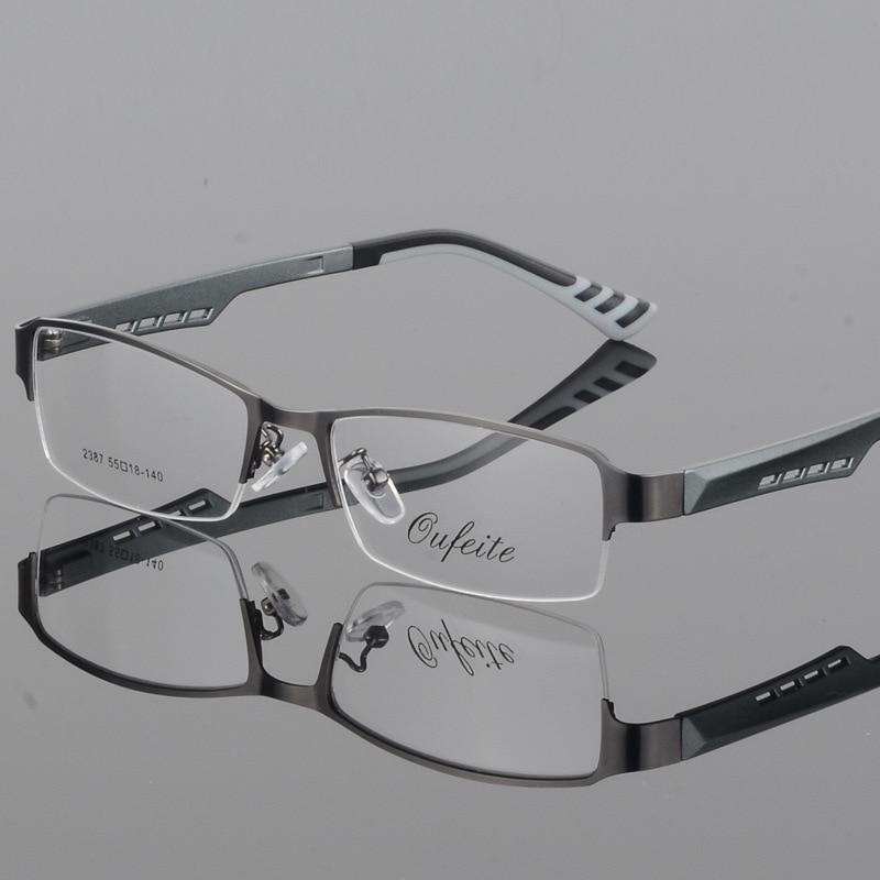 BCLEAR herren business brillen rahmen halb rahmen gläser rahmen ...