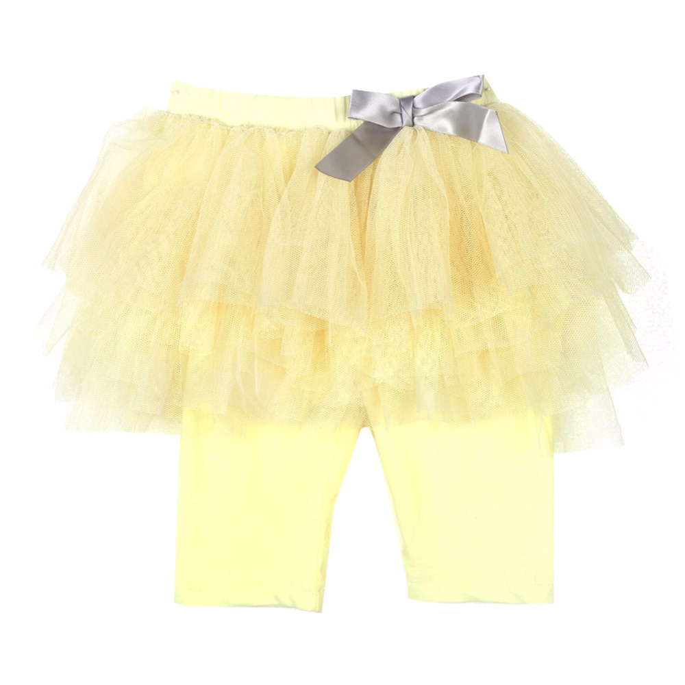 New-Hot-Princess-Girl-Kids-Culottes-Gauze-Pants-Party-Bow-Tutu-Skirts-4