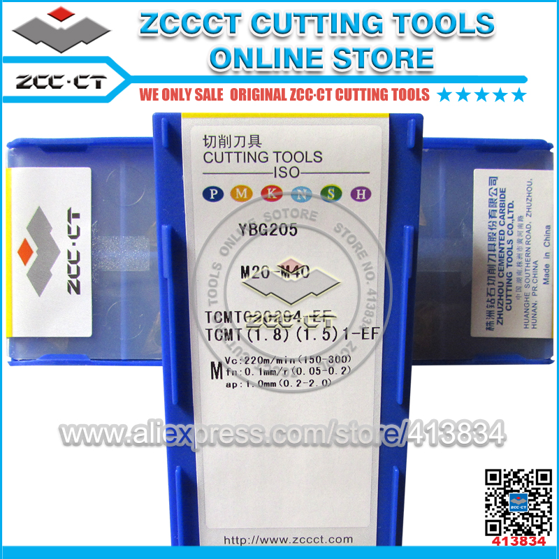 Free Shipping ZCC cutting tool lathe cutter cnc plate 1 pack for turning tools