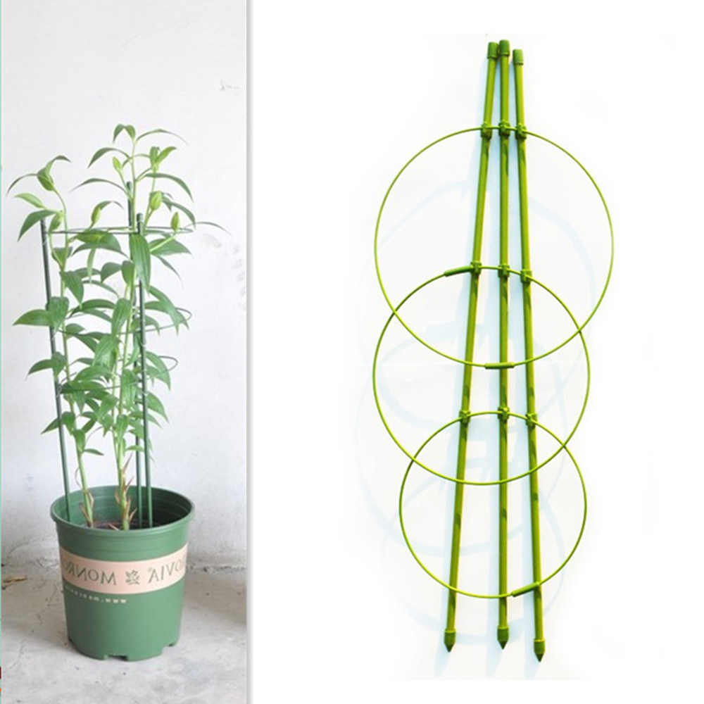 Creative Garden Plant Support Climbing Plants 45cm Conical Trellis Support Frame Plant Support & Care 2019